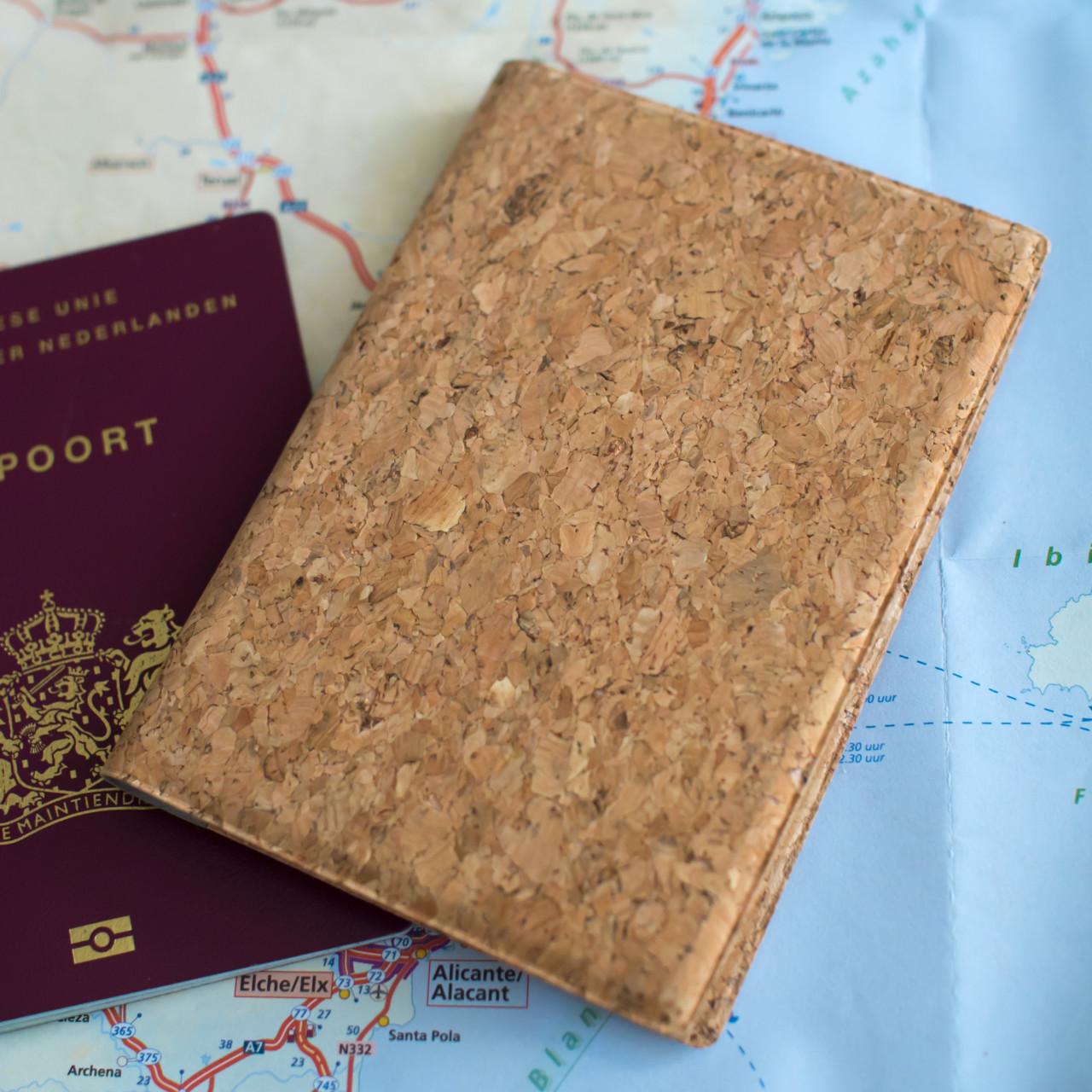 Paspoorthoesje kurk