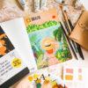 the adventure book, inkleuren