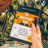 the adventure book, travelers notebook