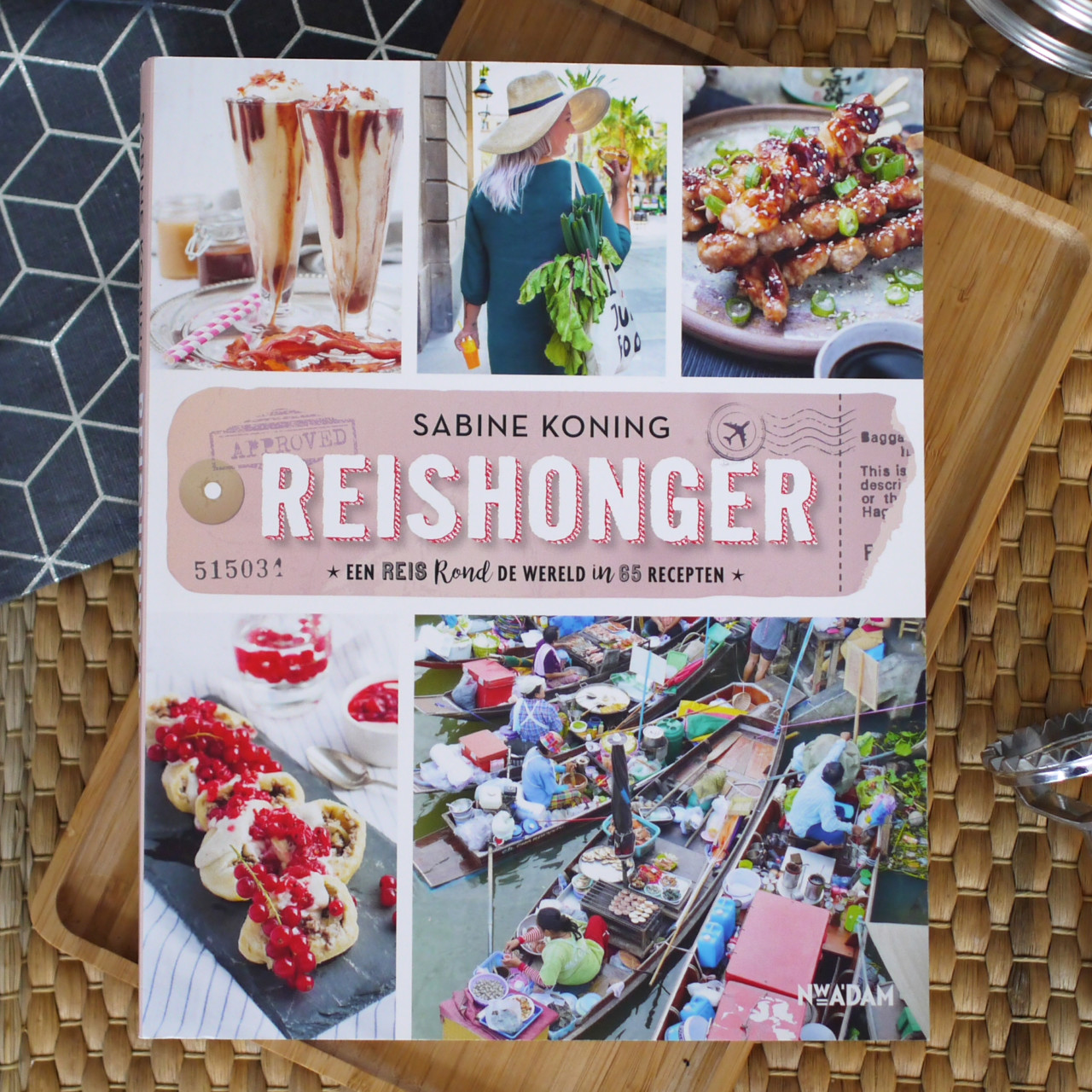 Reishonger – wereld kookboek