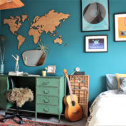 wereldkaart-hout-eiken