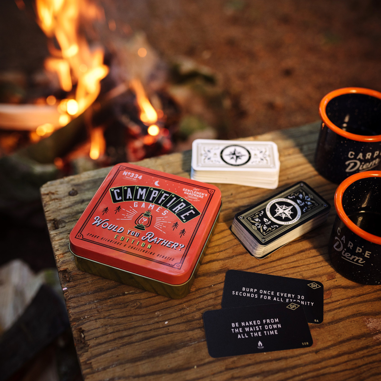 Campfire game: Would you Rather?