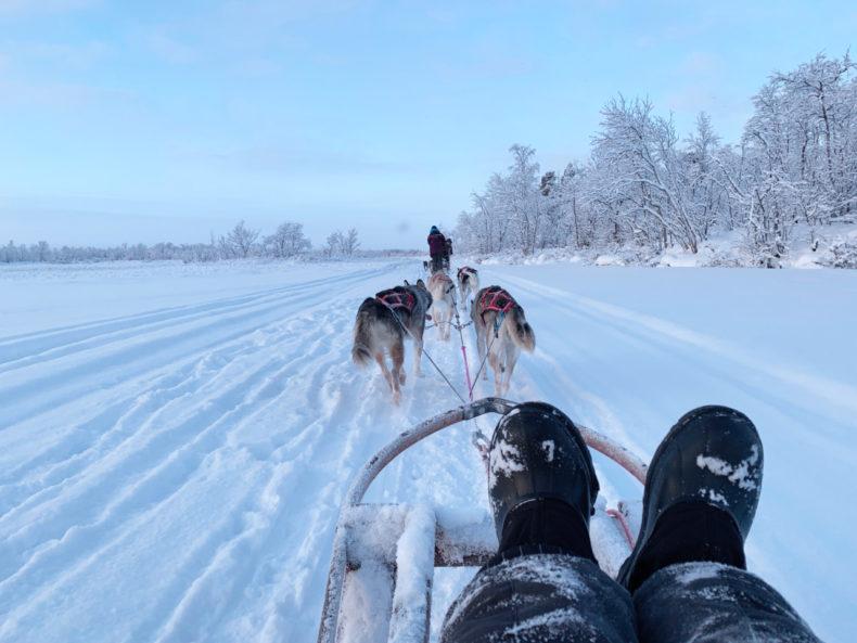 Lapland reis snowboots