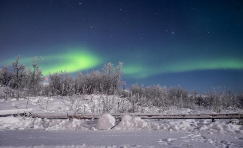 zweeds-Lapland-noorderlicht