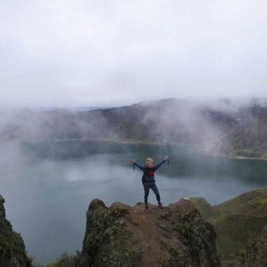 Quilotoa loop Ecuador: hike naar het azuurblauwe Quilotoa lake