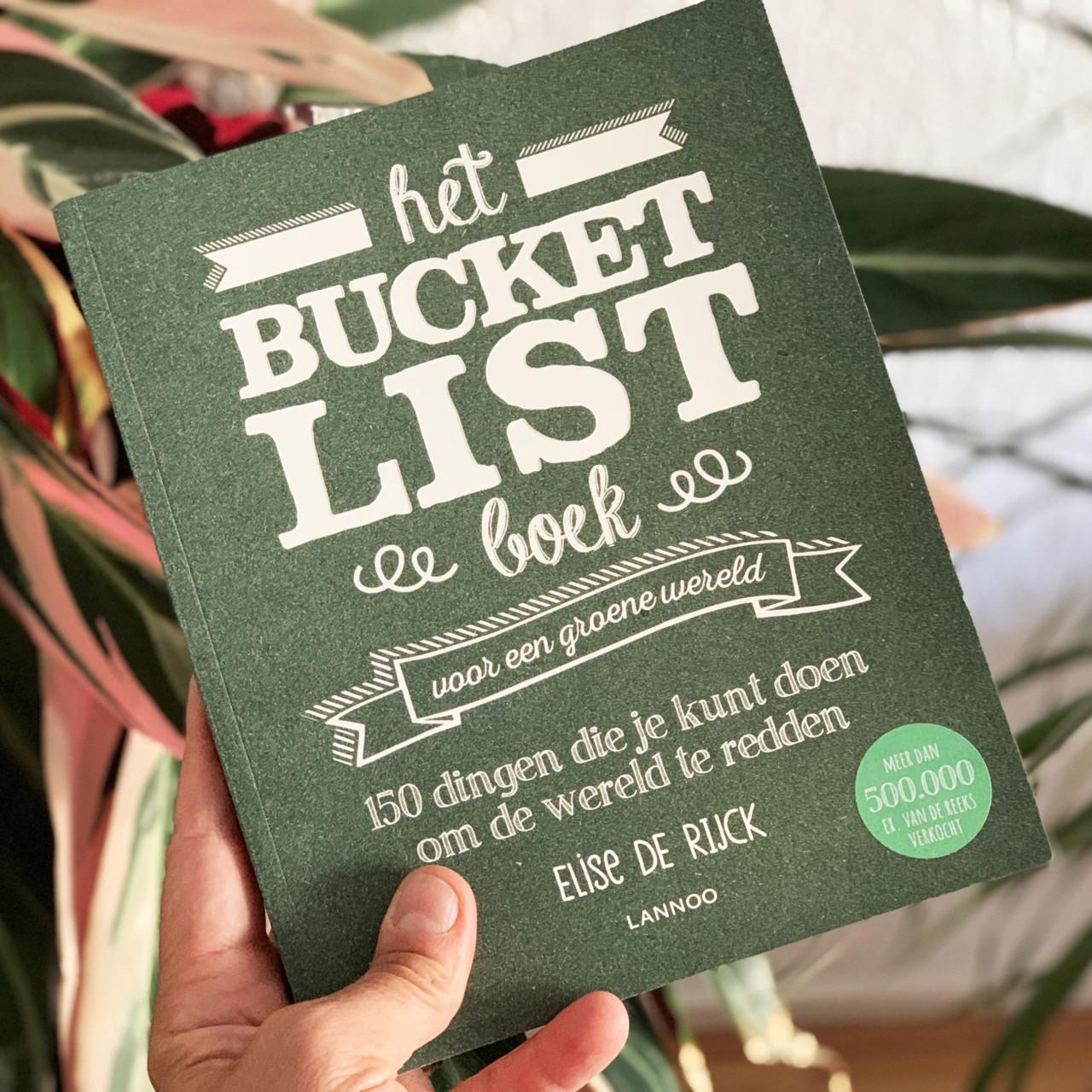 Bucketlist boek voor een duurzaam leven