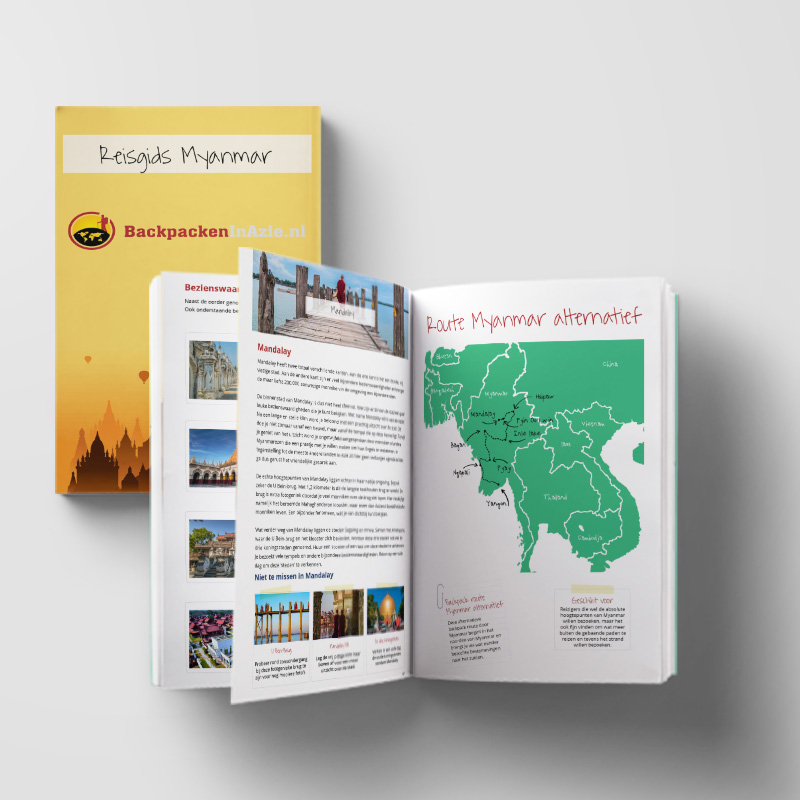 Reisgids Myanmar (e-book)