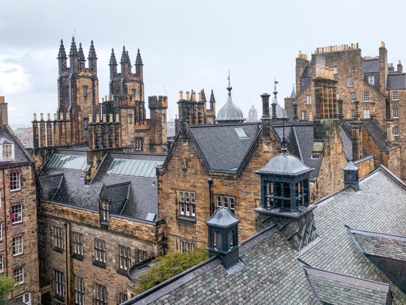 uitzicht camera obscura edinburgh