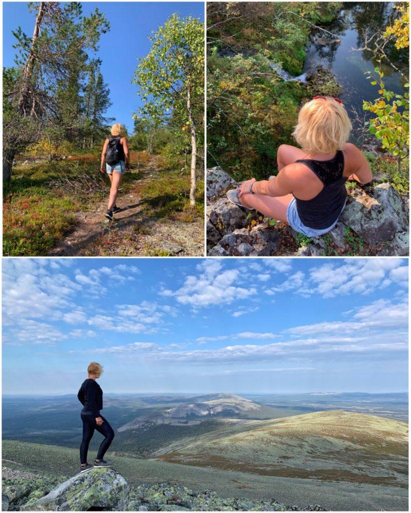 hiken in lapland finland