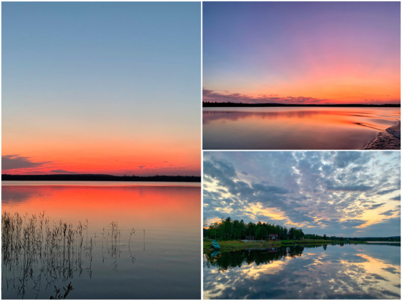 yllas-finland-zonsondergang