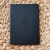 zwart notitieboek