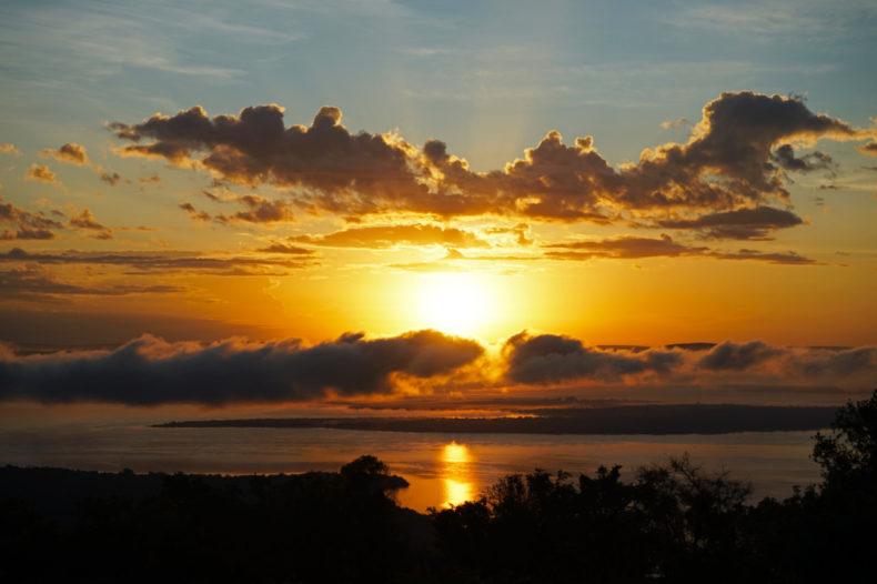zonsopgang akagera game lodge rwanda