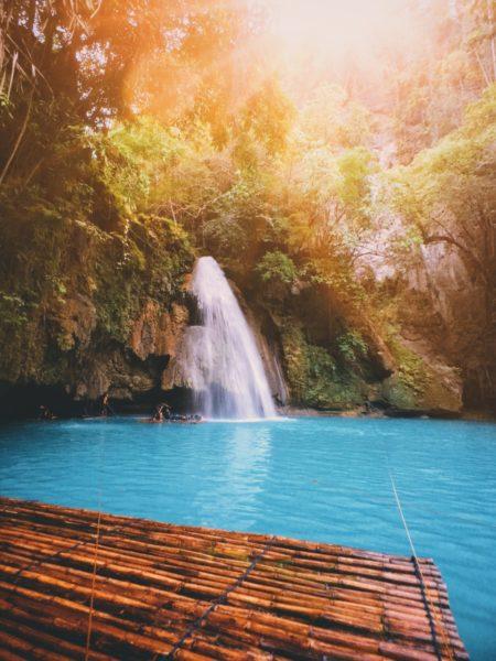 Kawasan Falls Filipijnen