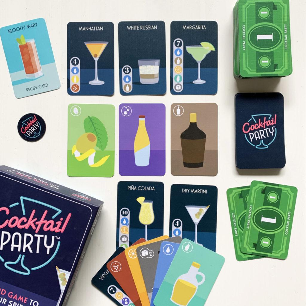 cocktail party kaartspel