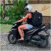 reizen met handbagage scooter