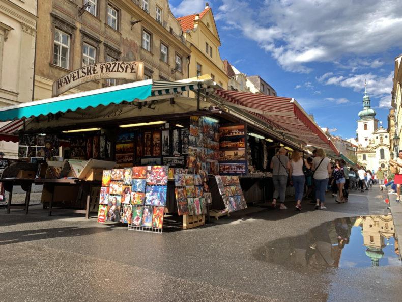 havelske houten markt praag