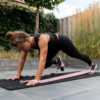 fitness elastiek oefening