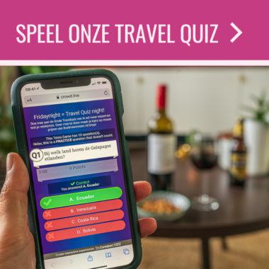 Friday Night Travel Quiz