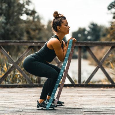 Fitness elastiek voor reizigers