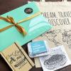 cadeaubox voor iemand die op reis gaat