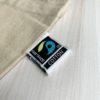 fairtrade label tasje