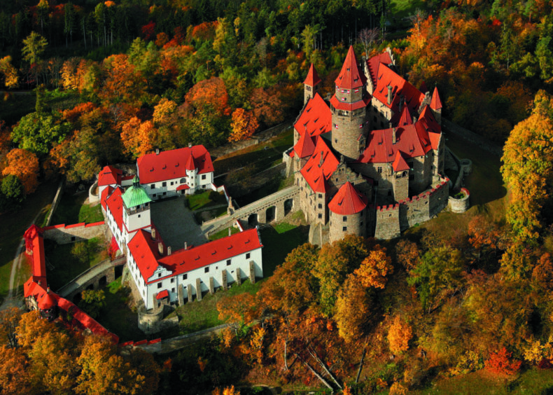 Bouzov natuur kastelen tsjechië