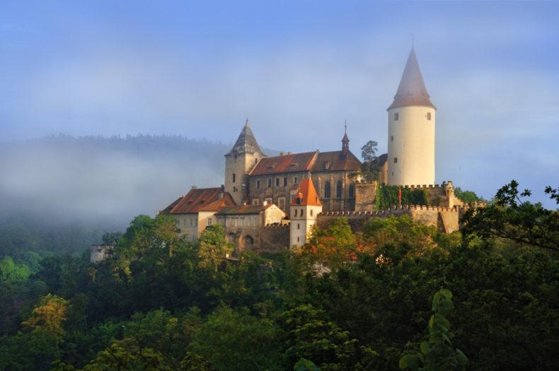 kasteel Krivoklat, praag tsjechië