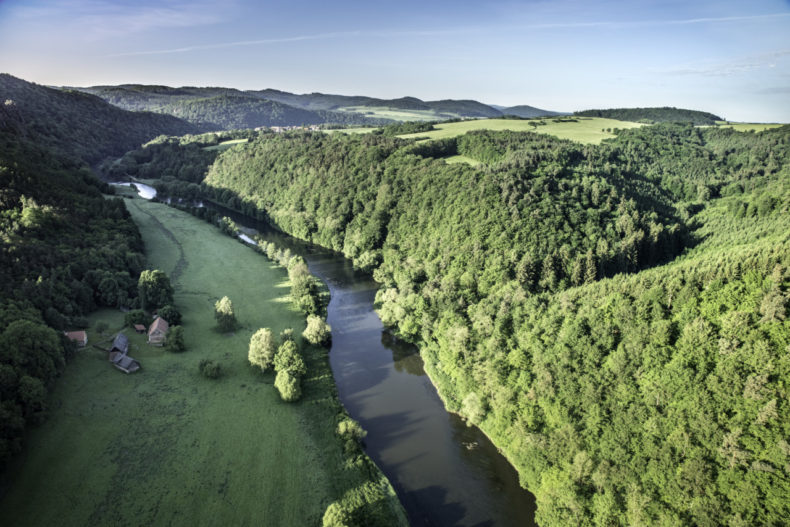 Krivoklatsko natuur tsjechië natuurparken