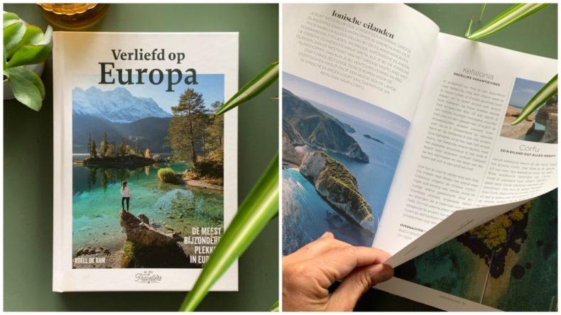 boek verliefd op europa, roell de ram