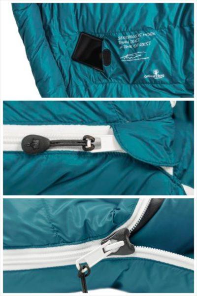 beste lichtgewicht slaapzak gruezi bag details