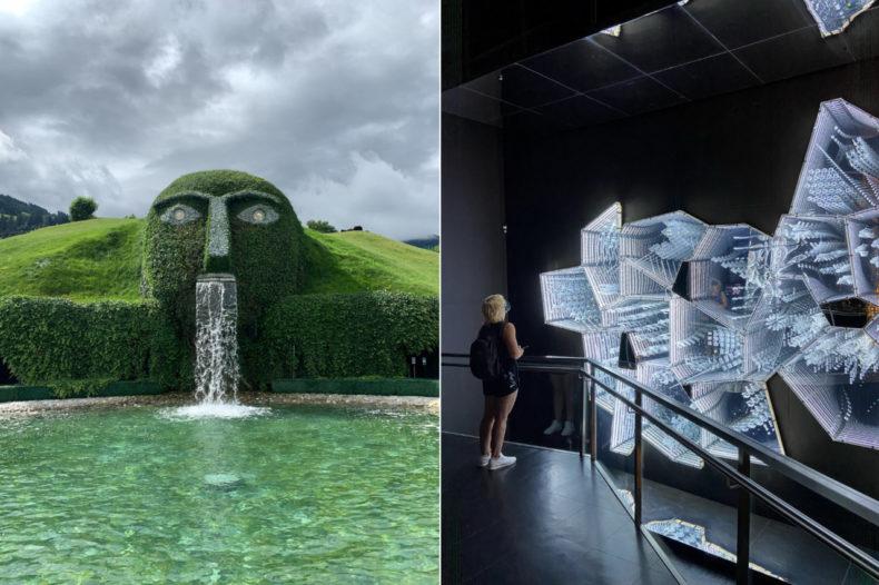swarovski kristallwelten stedentrip innsbruck