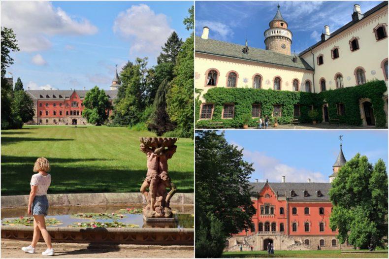 sychrov castle liberec tsjechie