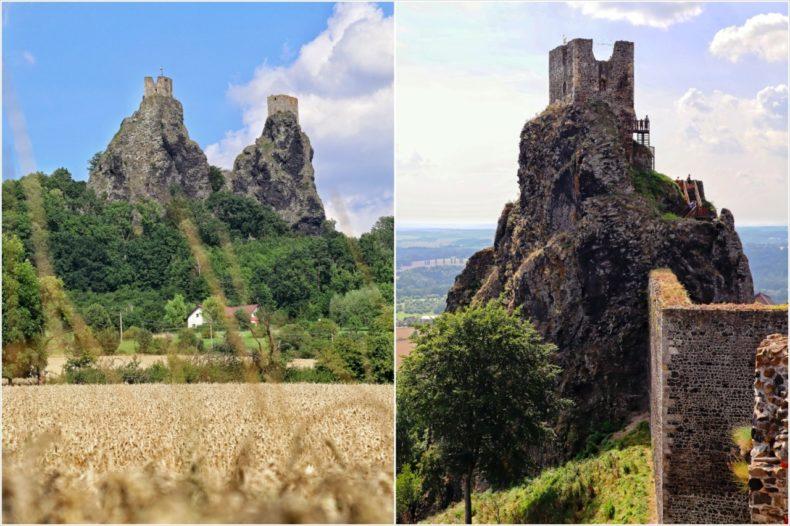 hrad trosky, boheems paradijs tsjechie