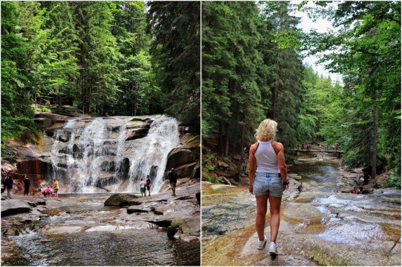 mumlava watervallen reuzengebergte tsjechie