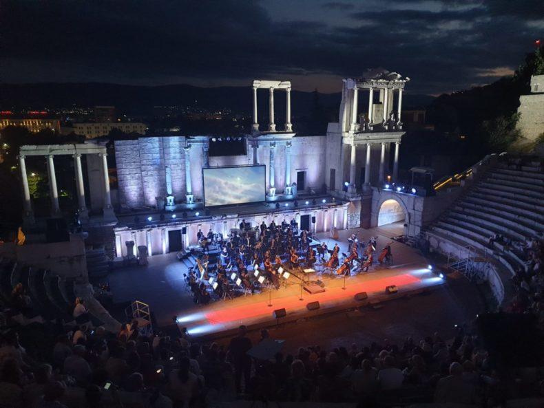 plovdiv bulgarije - ancient theatre