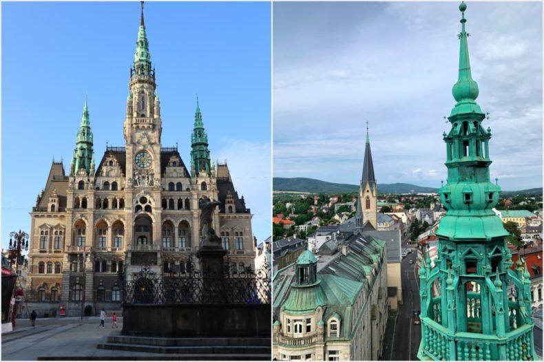 stadhuis liberec tsjechie