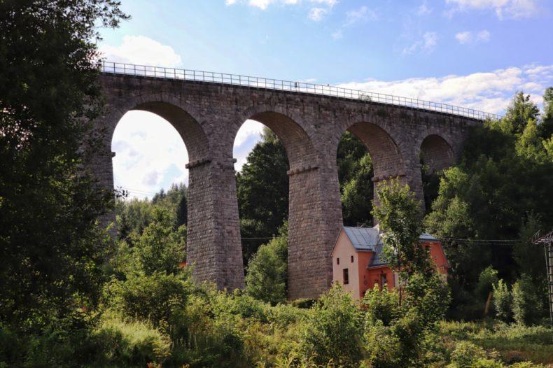 treinviaduct liberec tsjechie