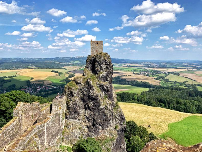 trosky kasteel boheems paradijs tsjechie