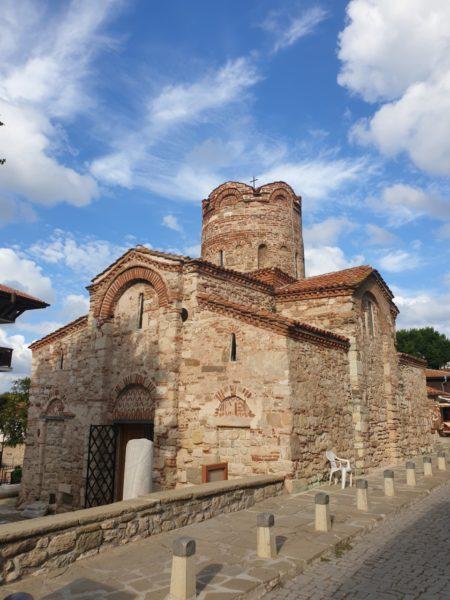 bezienswaardigheden bulgarije - 14e eeuwse kerk nessebar