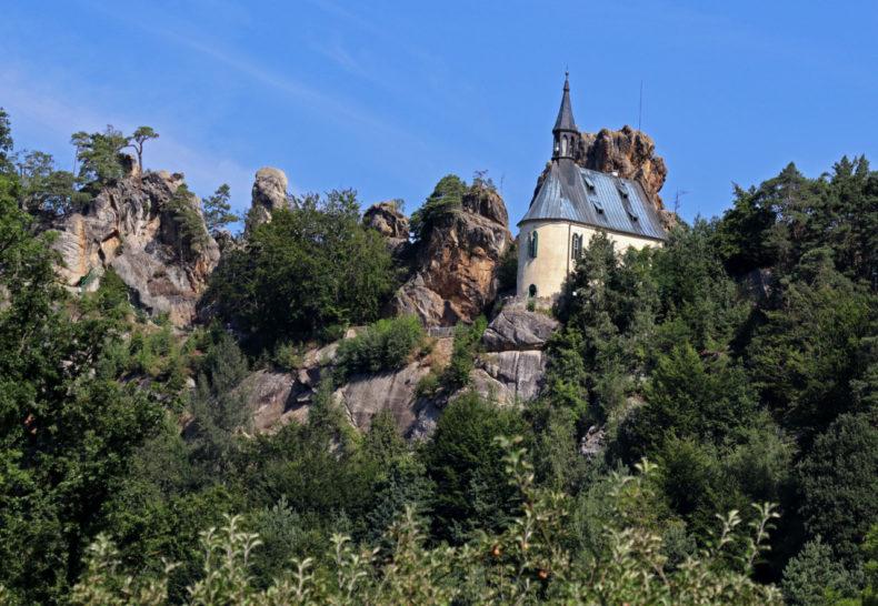 vranov castle, mala skala